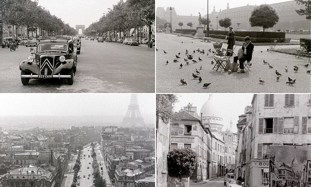 Fascinating vintage images of 1950s Paris by Allan Hailstone from Notre-Dame to the