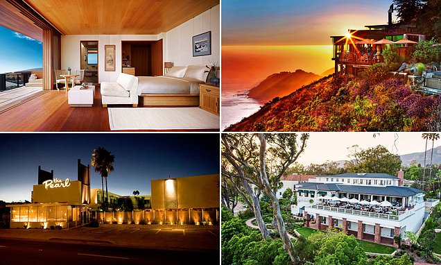 Stunning hotels to stop at on one of the world's finest road trips along the Pacific Coast
