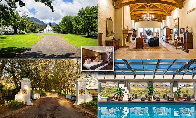 A review of Lanzerac Hotel and Spa in Stellenbosch near Cape Town