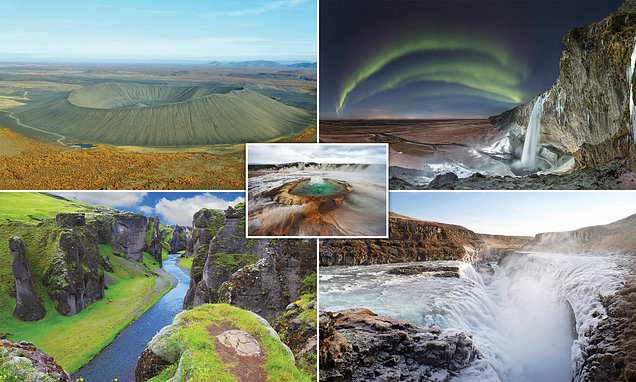 Spectacular photographs of Iceland from new book Iceland by Chris McNab published by Amber