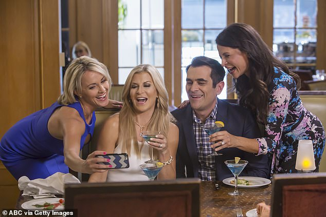 Star: The actress, thought to be in her mid-40s, has made appearances on shows like Modern Family