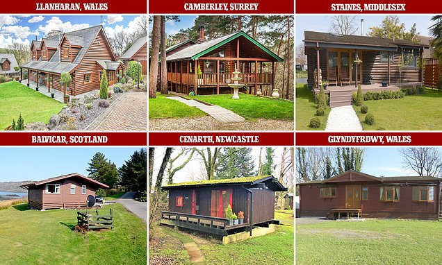 Quiz to guess the price of these log cabins
