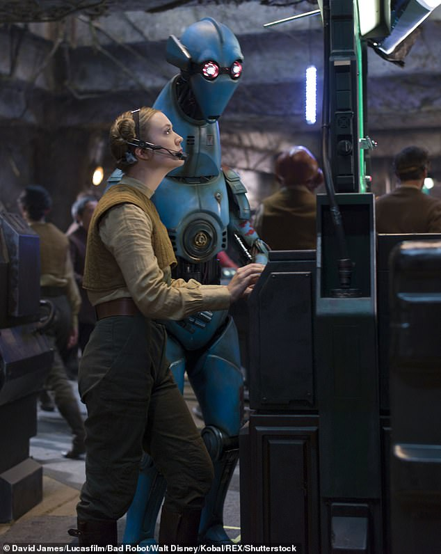 Iconic: Lourd has appeared as Lieutenant Connix in the first two films in the Star Wars sequel trilogy: The Force Awakens (2015) and The Last Jedi (2017)
