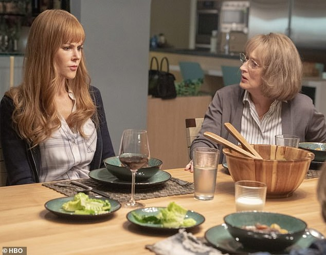 Getting their golden girl! 'Reese and I were literally screaming on the phone!' Nicole Kidman (left) convinced Meryl Streep (right) to star in Big Little Lies season two via text message