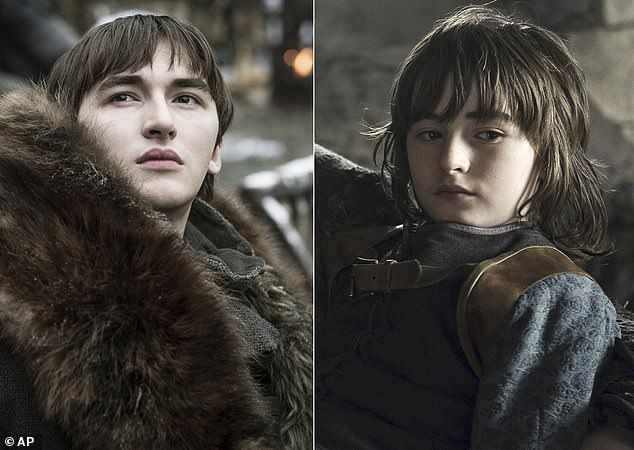 The King and I:Game Of Thrones fan theorists have claimed Bran Stark's fate as ruler of Westeros was hinted at in the very first episode of the HBO fantasy series