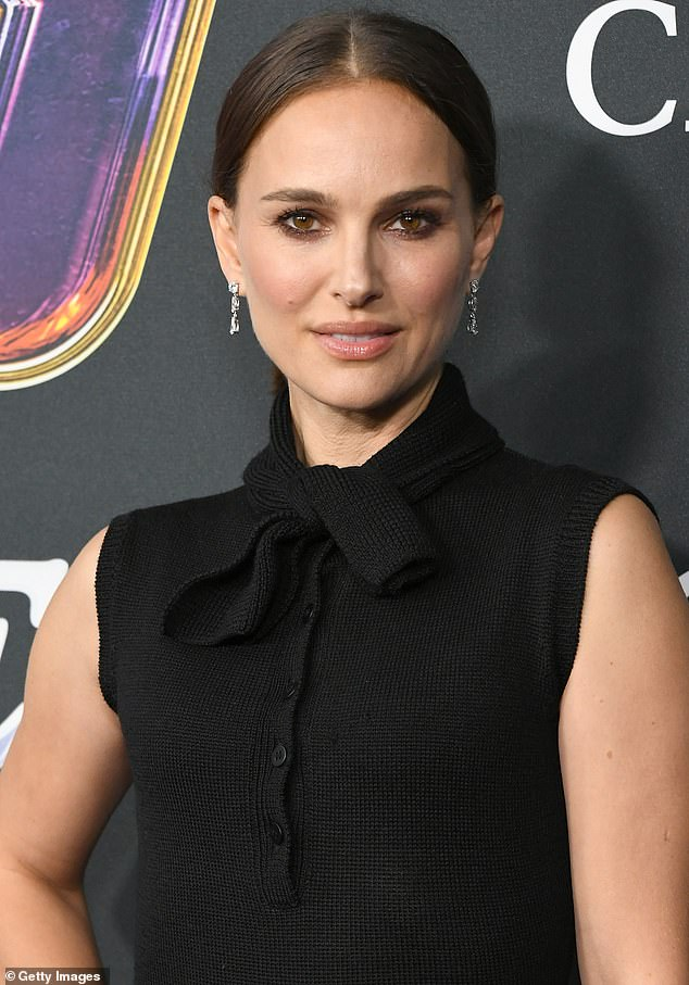 Slammed: Natalie Portman has rejected Moby's claims that the pair once dated, saying he was just an 'older man being creepy'
