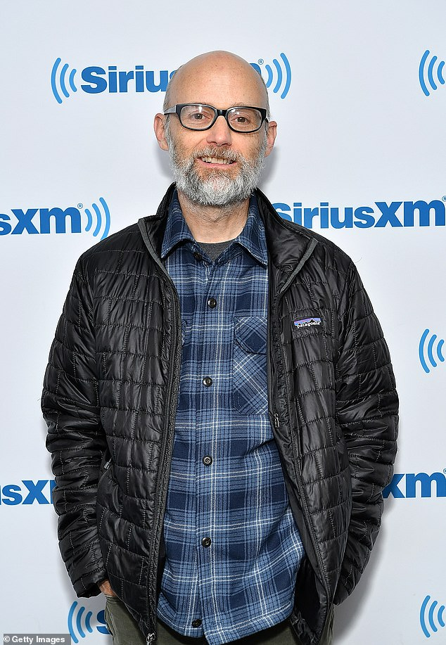 History: Moby, worth a reported £21million, has sold over 20million records (pictured May 2019)