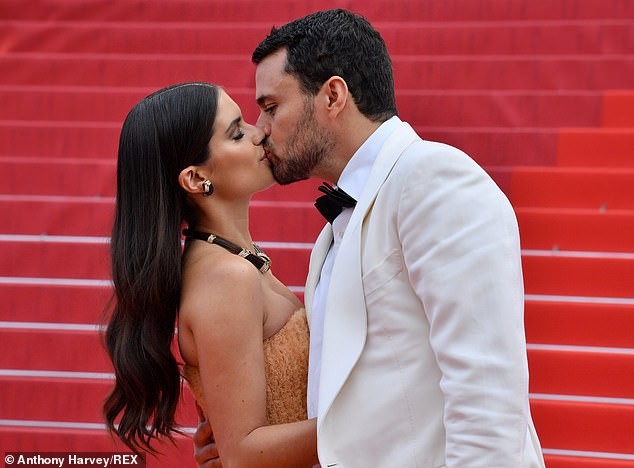History: The Portugese native was joined at the premiere by her beau Oliver, who she began dating in 2015 after he divorced Brazilian model Jeisa Chiminazzo
