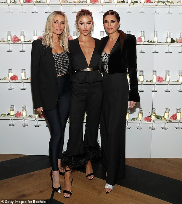 Strike a pose: Dorit, Delilah and Lisa all posing for a picture together
