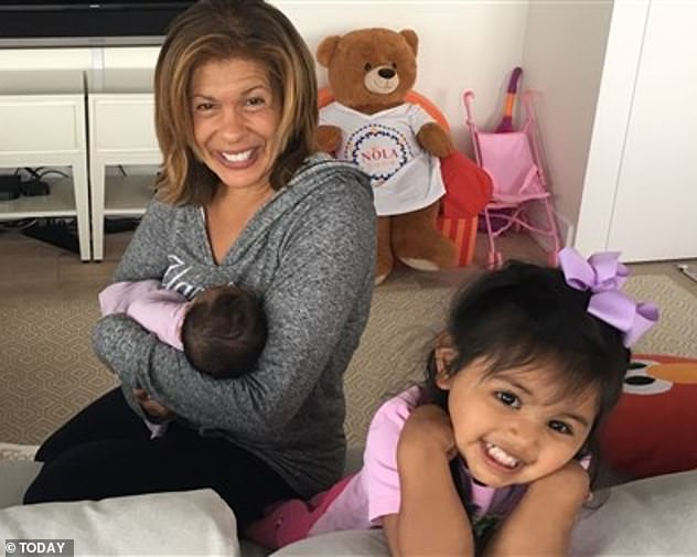 Surprise! The Today anchor joyfully revealed last month that she has adopted a second daughter, baby Hope