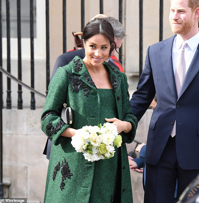 Tiffany also noted how Meghan looks up through her lashes at public engagements, as seen above, in a way that is reminiscent of Princess Diana