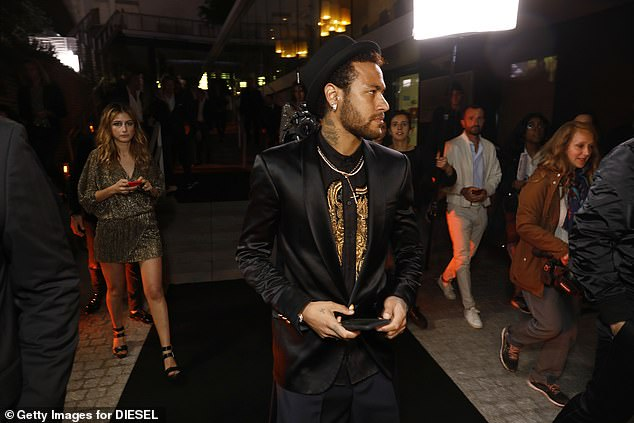 High demand:Neymar has many sponsorship deals including partnerships with Nike, Gillette, Beats Electronics and Red Bull