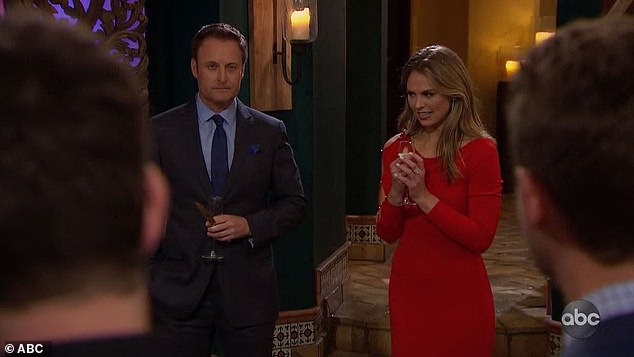 Rose ceremony: Chris Harrison came out during the rose ceremony