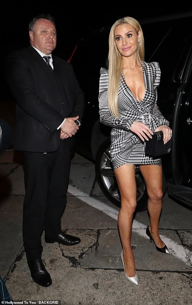 Legal battle: RHOBH star Dorit Kemsley's husband Paul has been ordered to appear in court to explain his finances in lawsuit over an unpaid $1.2 million loan, The Blast reported Tuesday. The couple are pictured leaving the Bravo reality show's premiere party in Hollywood in February