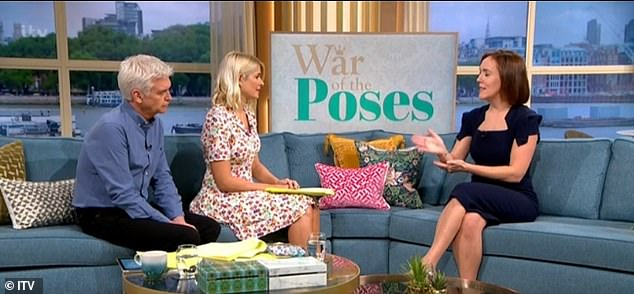 The royal expert told Holly and Phil that the clashes between the royal households 'could be a problem' moving forward