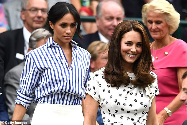 It comes amid rumours of tension between the two couples, following the split of the royal households last year