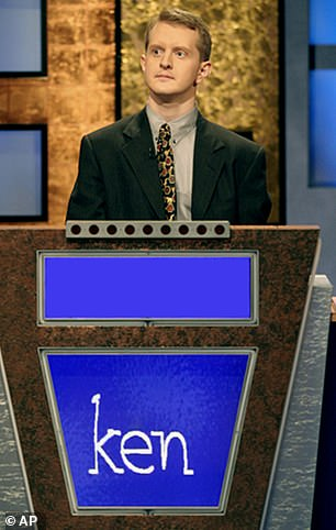 The show's all-time record set by Ken Jennings who was $2.5 million in 2004
