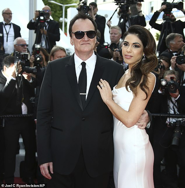 Marital bliss: Tarantino and Pick met back in 2009 while the director was promoting his film Inglorious Basterds but didn't start their relationship until around 2016