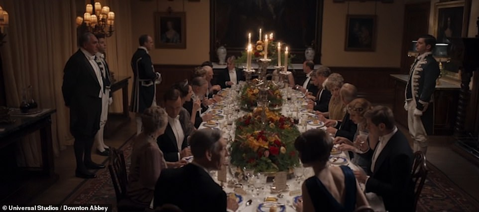 Royal visit: Picking up in 1927 (over a year after the endpoint of the series), the trailer is based on changing times, and sees the Crawley family and their staff preparing for a royal visit from George V and Queen Mary