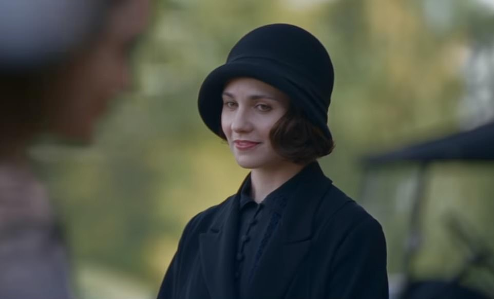 Love interest:Another new face is Tuppence Middleton, who plays Lucy the maid of another fresh character Lady Bagshawe, and a new romantic interest forTom Branson (Allen Leech) following the death of his wife Lady Sybil Crawley