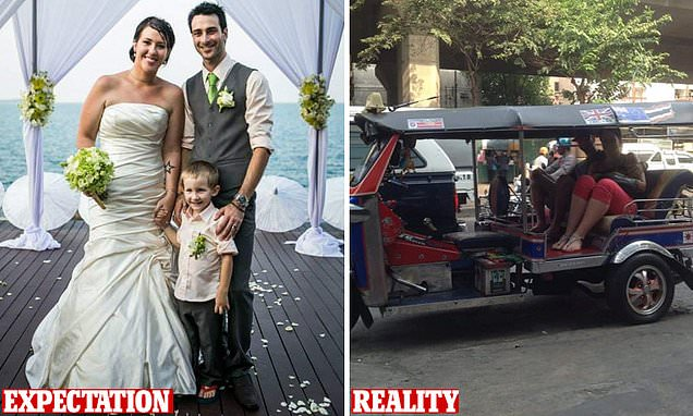 Mum reveals how she accidentally said 'I do' in in Thailand - and her husband was wearing