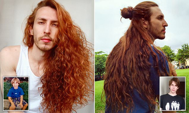 Male 'Rapunzel' claims women are jealous of his luscious long locks