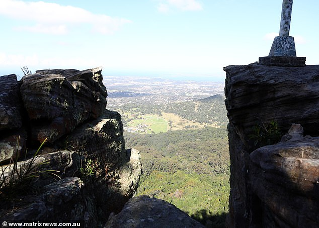 Two bodies were retrieved at the bottom of a cliff below Robertson Lookout at Mt Keira, near Wollongong, on Tuesday night in a painstaking recovery operation