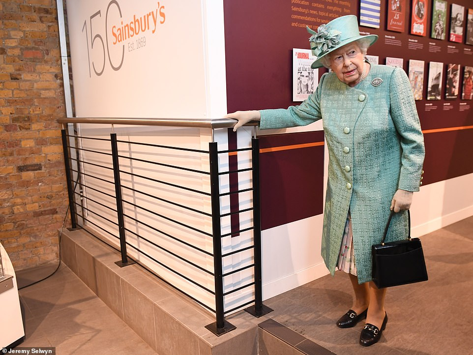 The pop-up shop, open all week, is designed to take visitors on a journey through Sainsbury's 150 year history. Visitors including the Queen can enjoy looking at counters designed to reflect the styles of the supermarket through the decades