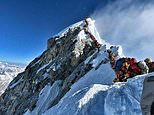 It's been a busy week at the top of Everest with long queues of climbers trying to reach the summit