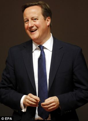 Pledge: David Cameron has promised to negotiate a fresh settlement with Brussels before holding an in-out referendum by 2017