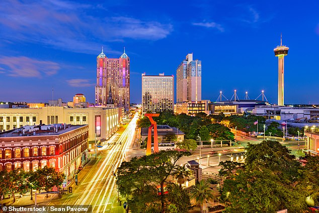 San Antonio, Texas, was the second fastest-growing city in 2018, increasing by 20,824 residents to reach 1.53 million people