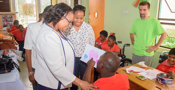 Support for Ptolemy Reid Rehab Centre