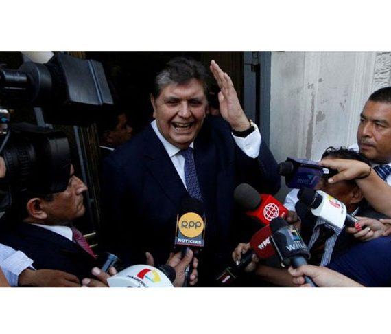 Former Peruvian President, Alan Garcia shoots himself as police arrest him