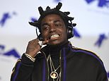 FILE - In this Aug. 27, 2017 file photo, Kodak Black arrives at the MTV Video Music Awards at The Forum in Inglewood, Calif. Rapper Kodak Black is due back in Miami federal court after his arrest at a Miami hip-hop festival around which several violent incidents occurred. (Photo by Jordan Strauss/Invision/AP, File)