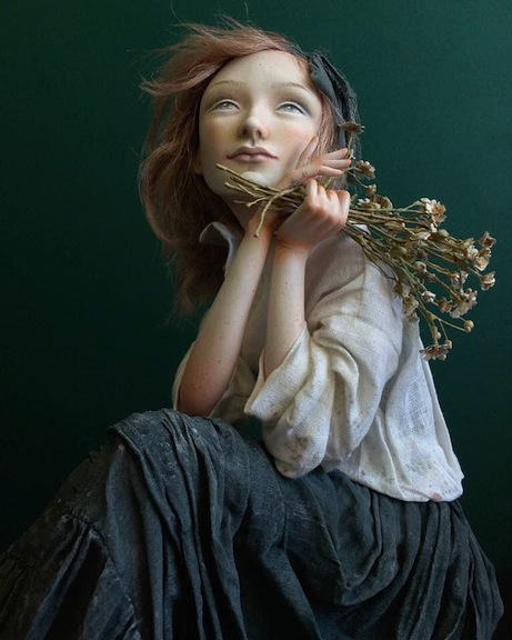 My Name Is Dream doll by Anna Zueva
