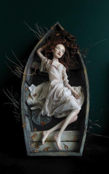 Calm Water. Insomnia. By Anna Zueva