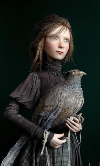 Tina and Bird by Anna Zueva