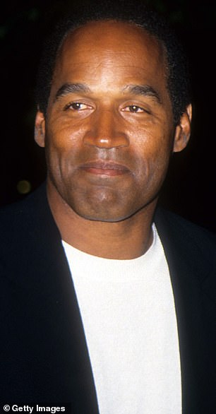 According to his ex-manager Norman Pardo, O.J. Simpson once boasted that he 'f***ed' Kris Jenner 'until I broke her' in a hot tub in the 1990s. Simpson is pictured in 1994