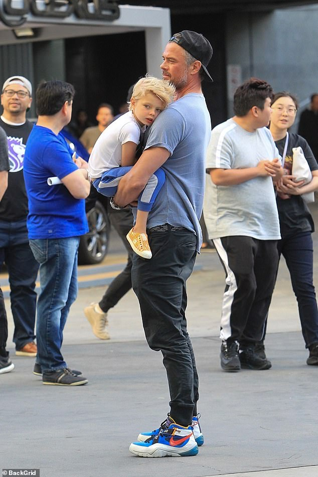 Father and son:Duhamel has a son Axl who turns six years old this coming August, with his ex-wife, singer Fergie