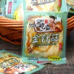 小包装零食泡椒金针菇