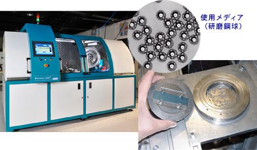 超音波ショットピーニング装置イメージ