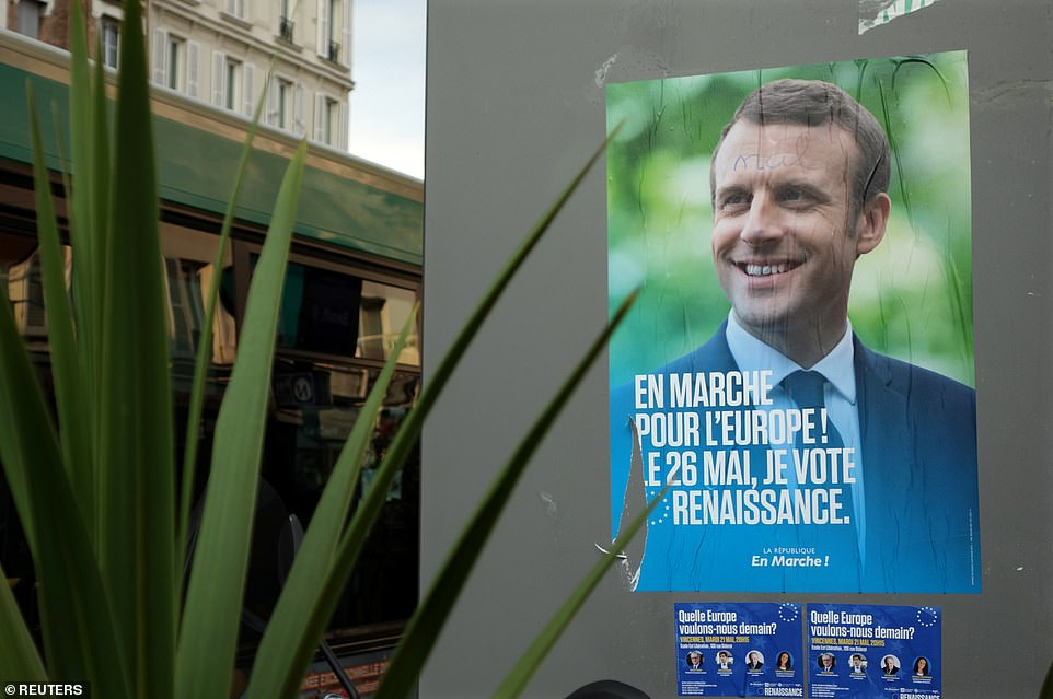 French President Emmanuel Macron has pitched himself as Europe's foremost pro-EU politician, after Angela Merkel announced her intention to step down