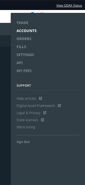 How to transfer funds from GDAX to Binance.