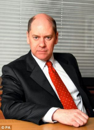 Long term problem: Head of MI5 Sir Jonathan Evans has said that spies are often tempted to cut corners in order to catch terrorists