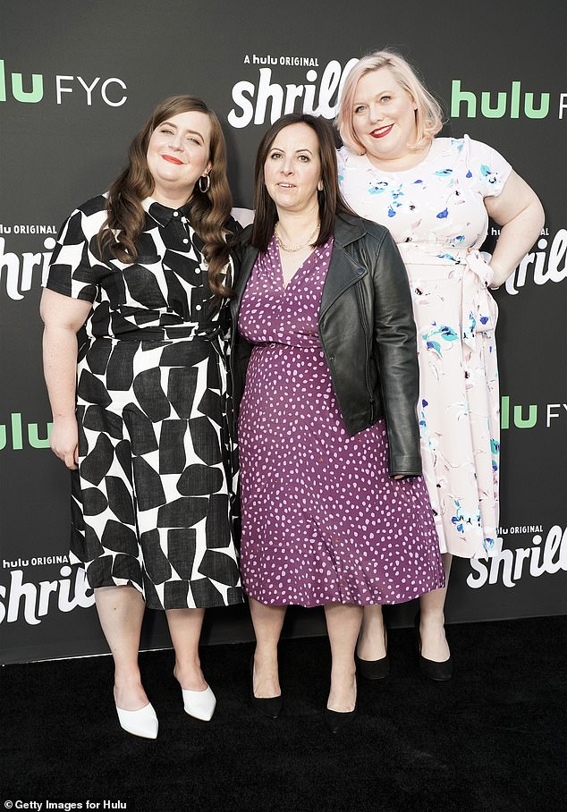 Aidy, Ali and Lindy: Aidy Bryant, Ali Rushield and Lindy West are all smiles