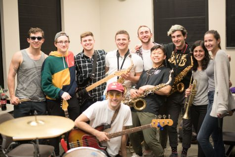 Battle of Bands opening act Fizz features funk, R&B and Latin jams