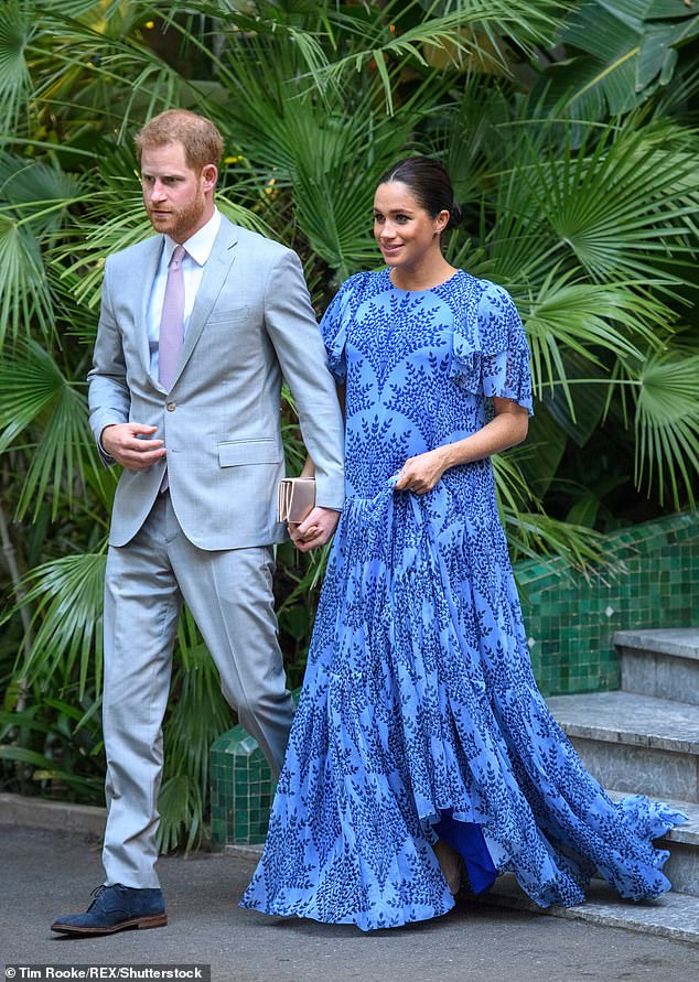 Very rarely is she seen in the same outfit and during her pregnancy her wardrobe was said to be worth around £500,000