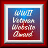WWII Veteran Website Award