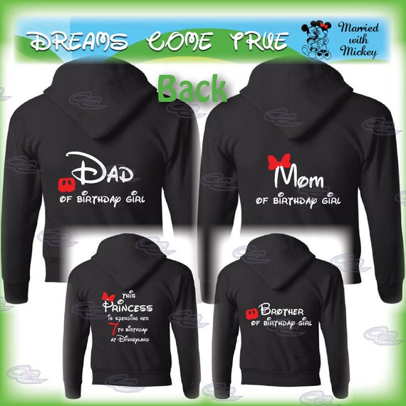4 Family Matching Shirts, disney mickey minnie mouse birthday girl mom dad brother daugher bday party, 161