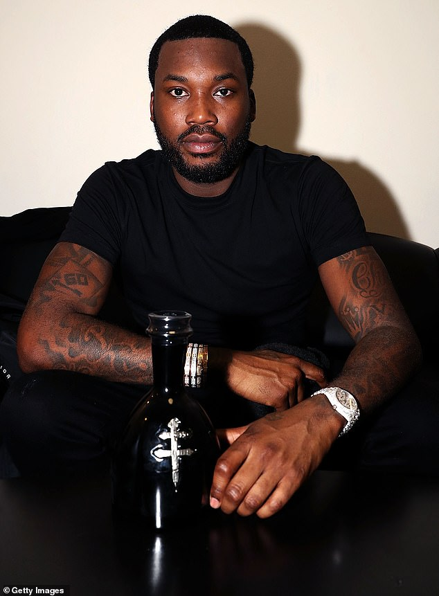 Profiling: 'Some of these casinos have a bunch of Tatics to keep the level of blacks down .... but love to take our money!!!! This happens to a lot of black entertainers not just me either!!' wrote Meek on Instagram; shown March 13 in New York City